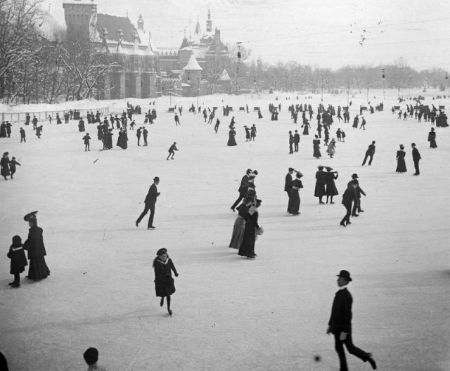 The City Park Ice Rink is 150 years old